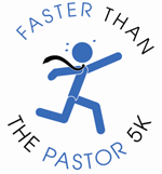 Faster Than The Pastor 5K logo