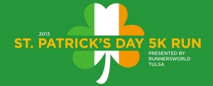 St. Patricks Day Run logo