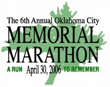 Oklahoma City Memorial Marathon logo