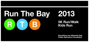 Run the Bay logo