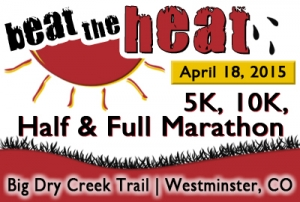 Beat the Heat 5K, 10K, Half & Full Marathon - 2015 logo