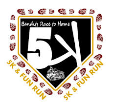 Bandits Race to Home 5K - 2015 logo