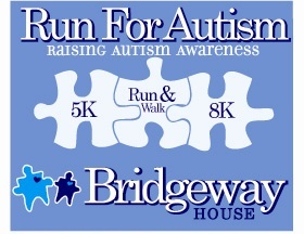 Bridgeway Run For Autism logo