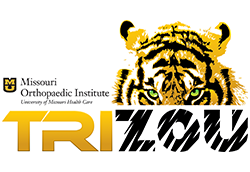 2017 Missouri Orthopedic Institute TriZou logo