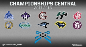 Crossroads League XC Championships 2017 logo