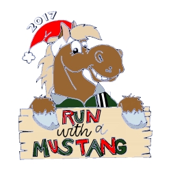 Run With A Mustang 2017 logo