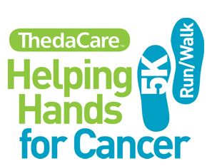 HELPING HANDS FOR CANCER 5K RUN/WALK 2018 logo