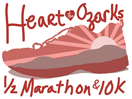 2019 Heart of the Ozarks Half Marathon & 10K logo