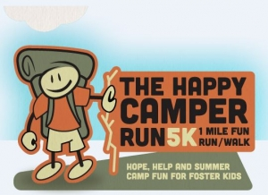 2019 The Happy Camper 5K logo