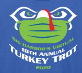 Holmes Gig Harbor Virtual Turkey Trot logo