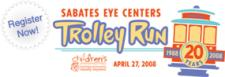 Sabates Eye Centers Trolley Run 4 Mile logo