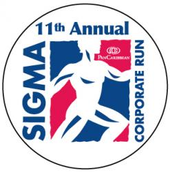 11th Annual Sigma  Corporate Run logo