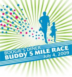Boogies Diner Buddy 5 Mile logo