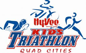 Hy-Vee Kids Triathlon - Quad Cities logo