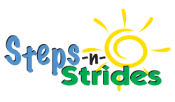 Steps N Strides 5k  logo