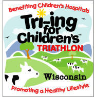 Tri~ing For Childrens Triathlon Adults - 2010 logo