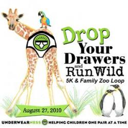Drop Your Drawers and Run Wild 5K logo