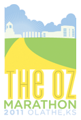 The Olathe OZ Marathon logo
