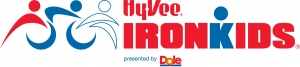 Hy-Vee Iron Kids Quad Cities logo
