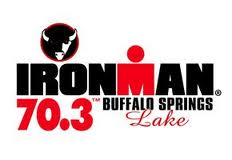 Buffalo Springs Lake Ironman 70.3 logo