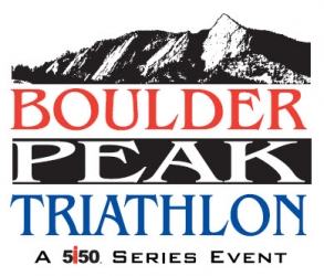 Boulder Peak Triathlon logo