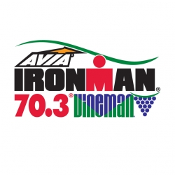 Ironman Vineman 70.3 logo
