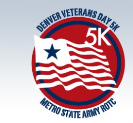 Denver Veterans Day 5K logo