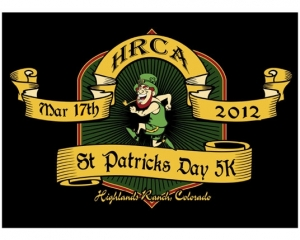St. Patricks Day 5K logo