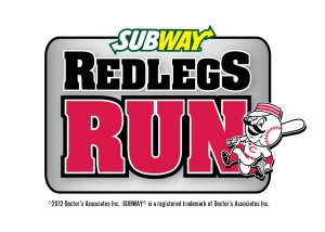 Subway Redlegs Run 2012 logo