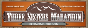 Three Sisters Marathon logo