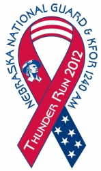 KFOR National Guard Thunder Run logo