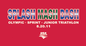 Splash Mash Dash Junior Triathlon logo