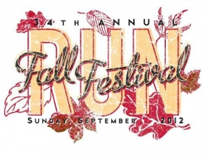 Corvallis Fall Festival Run logo