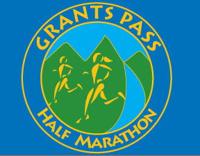 Grants Pass Half Marathon logo
